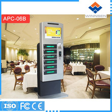 Remote manage network access Internet Connected Mobile Charger Station mobile media station APC-06B