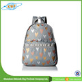 High quality folding ripstop girls nylon school backpack