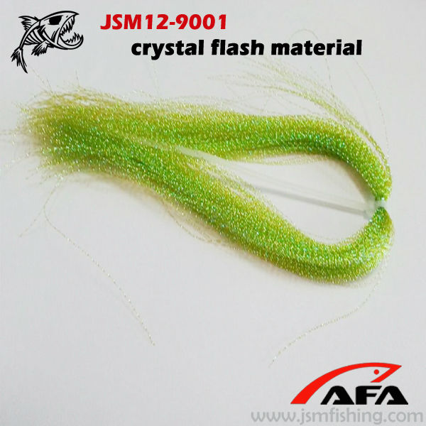 Crystal Flash Flying Tying Material, Tinsel for fishing equipment JSM12-9001