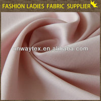 Solid color high fashion woven micro 100% polyester jacket twill fabric