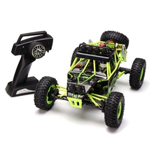 WLtoys 12428 4WD 1/12 RC Car 2.4G 50km/h High Speed Monster Truck Radio Control RC Buggy Off-Road RTR Updated Version for Child