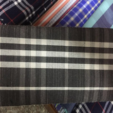 100% Yarn Dyed Cotton Twill Check Flannel T Shirt Fabric