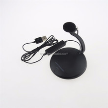 musical instruments mini round stand condenser microphone collar microphone alternative for desktop
