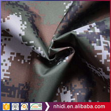fabric mill CVC 280gsm 14*14 ripstop snow military waterproof camouflage fabric