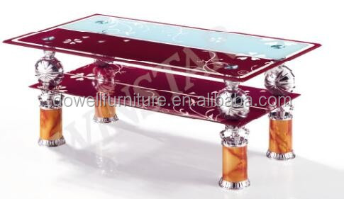 modern glass coffee table tea table home usage cofee table design