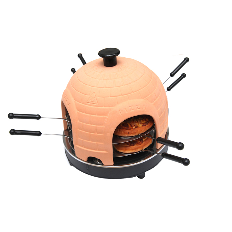 Professional home electric pizza dome oven
