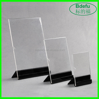 Paper Display Stand Acrylic Display Rack for Countertop