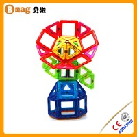 Plastic Sliding Puzzle Educational Magformers Construction