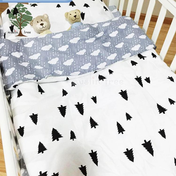 Muslin tree 3 pieces wholesale crib baby bedding
