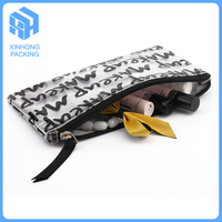 full color printing pvc stationary pouch/plastic pvc zipper bag/pvc make up bag