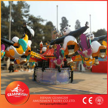 China amusement rides manufacturer new attractions jumping Kungfu Panda
