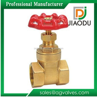 good quality competitive price bsp bonnet of forged brass female threaded gate valve with handle wheel