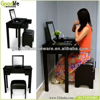 wooden makeup dresser with mirror dressers from China
