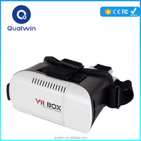 China Qualwin VR Box-01 Movies Adult Free 3d Video Glasses HD Media Player VR Glasses for Smartphone