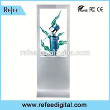 Refee 32/42/55/65 social media kiosk 42 inch advertising player top quality factory for mall/store/station