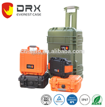 Shockproof Plastic Hard Equipment Case With Foam