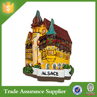 Factory Direct France. Alsace. House Souvenir Fridge Magnet