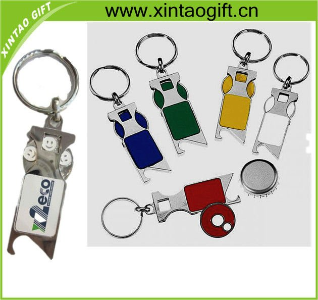cutomized bottle opener key chain