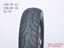 2015 best low price XD-010 autobike TT tube type tire 130/70-12 motorcycle tire