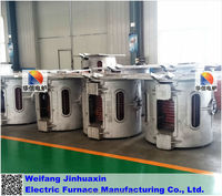 Tilt pouring Aluminum Melting Equipment Scrap Aluminum Melting Furnace Factory