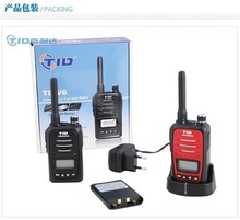 PMR-446 wireless unique mini uhf walkie talkie with large LCD display