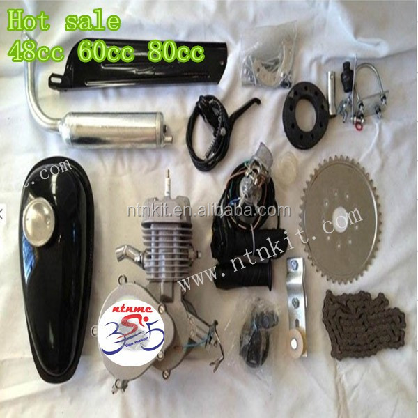 motor para bicicleta kit, 80cc Gas motor de bicicletas, Kit engine for bike
