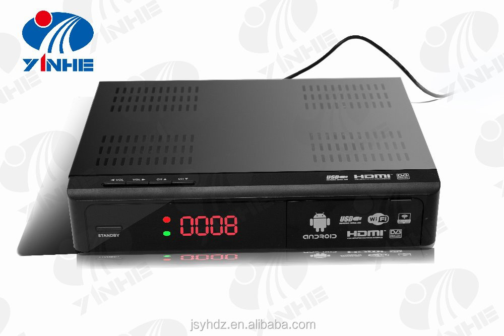 set top box android tv with isdbt
