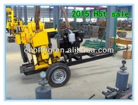 DTH Drilling rig 200m Portable water well drilling rigs for sale MT-200Y