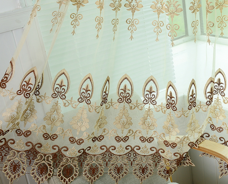 Best Selling Quality sheer ruffled curtains with Assurance