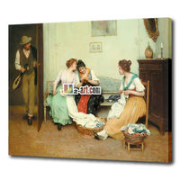 Classical oil painting famous art work Eugene de Blass