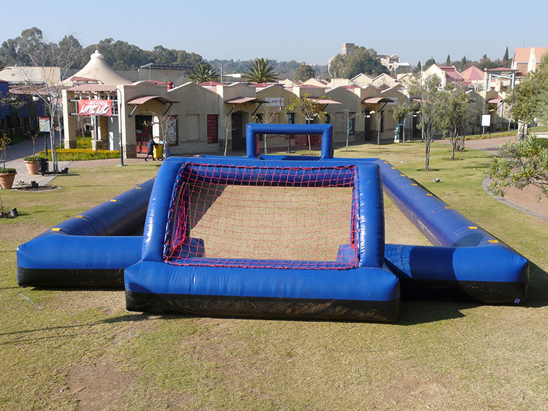 2017 best PVC giant inflatable soccer field for sale