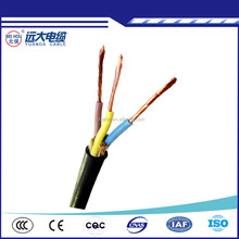 R - YZ cabtyre cable of 3 x4mm rated voltage 300/500