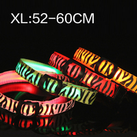 LED light Tactic pet collar dog collar collar pet fluorescent luminous XL