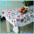 2017 pvc printing table cloths for wedding/party