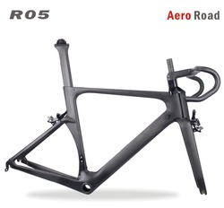 2017 Wholesale Carbon road bike frame CR05 AERO Carbon road bicycle frameset 49/52/54/56/59cm