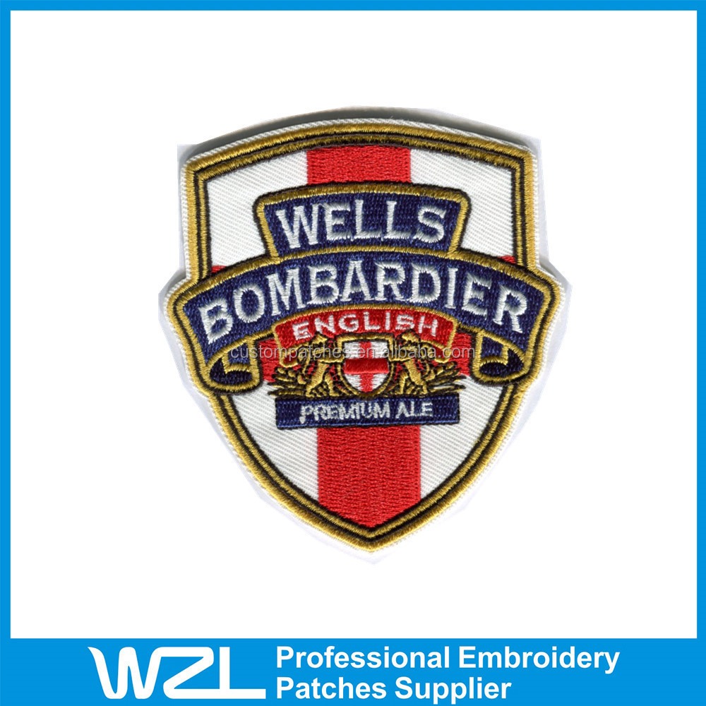 2015 professional Embroidered Patches officer security embroidered patch