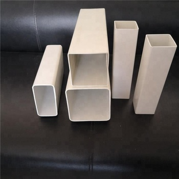 Wholesale 4 inch pvc square rectangular pipe tube