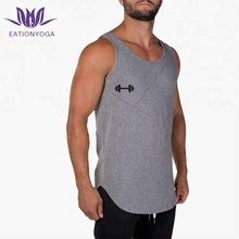 mens sports wear athletic singlets gym tank top
