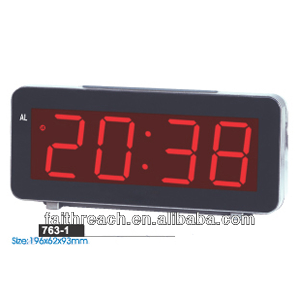 Low price table led clock