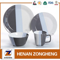 New Stocks 16pcs Cheaper Color Glazed Dinner Set