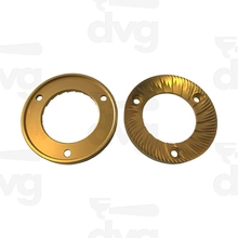 Brass Metal CNC Machine turning replacement ring spare parts