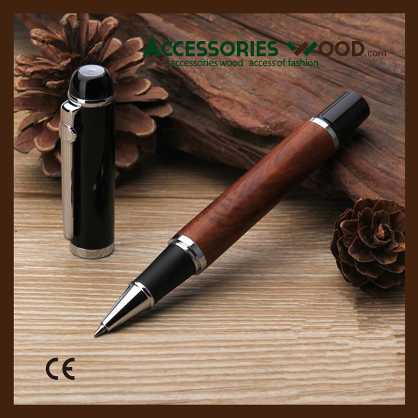 Luxury Wooden pen with mixed materials for office man