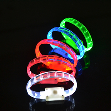 "light 6 hours 8""party led flashing bracelet"