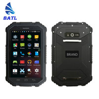 cheap 7 inch touch screen IP67 waterproof durable industrial 4G NFC android rugged tablet pc