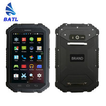 cheap 7 inch touch screen size IP67 waterproof durable industrial 4G NFC android rugged tablet pc