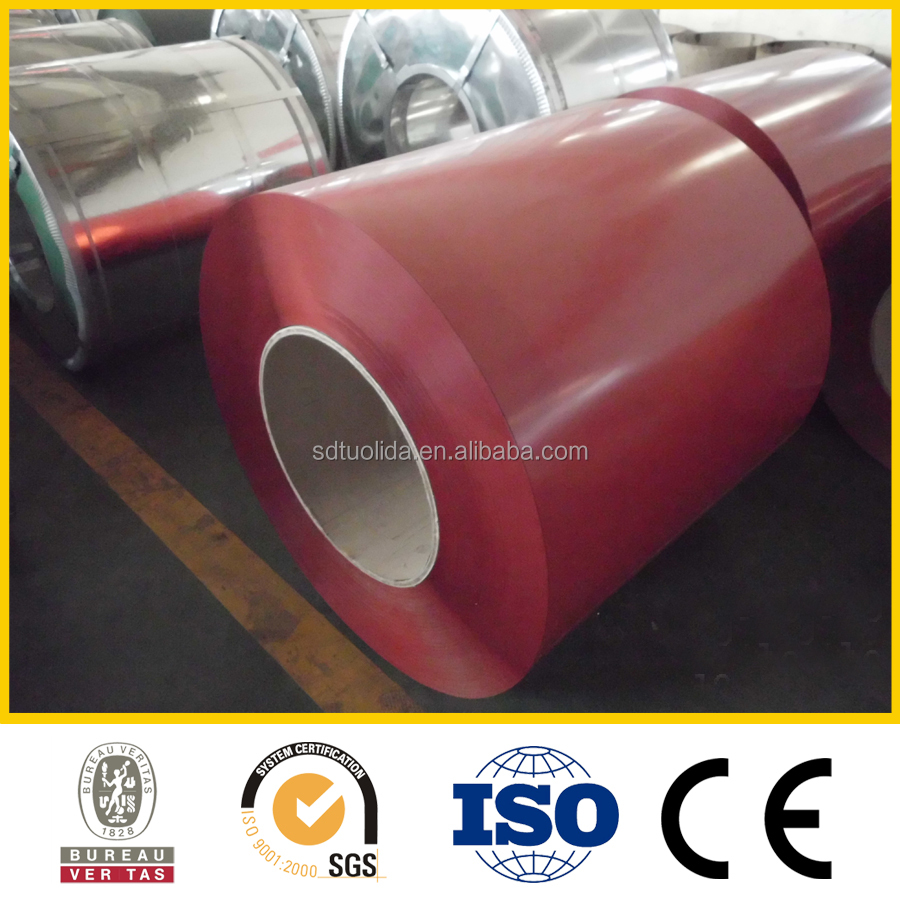 GL Color Coated steel sheets PPGL steel coils made in China