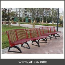 Arlau Curved Park Bench