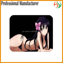 AY Accel World Black Lotus Sexy Girl Boobs Japanese Sexy Photos Plastic Mousemat, Sexy Nude Girl Anime Figure Mouse Pad Mats