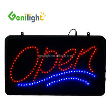 Restaurant Store Decoration LED Neon Business Window Letter Sign Advertising Board Rectangle Shape