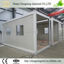 Sandwich Panel Firm Raintight Prefabricated Shipping Houses Container/Low Cost Housing Construction